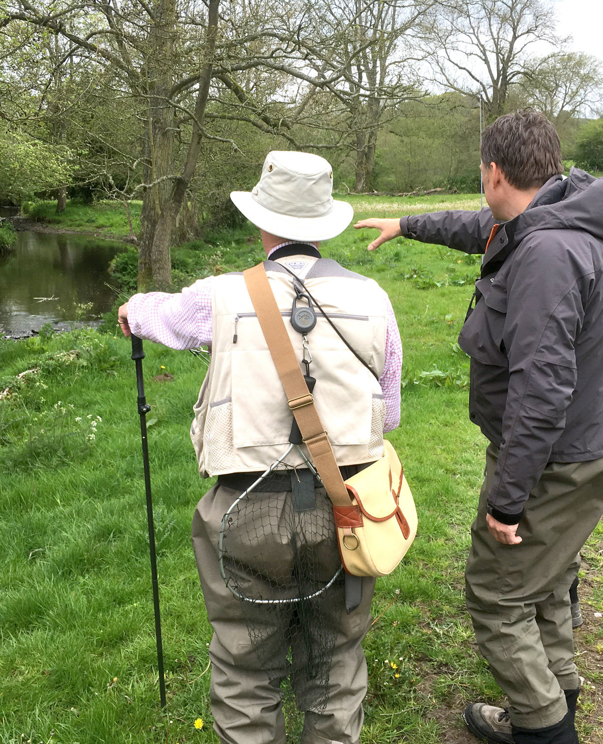 The Small Stream Day will involve a good amount of one-to-one instruction