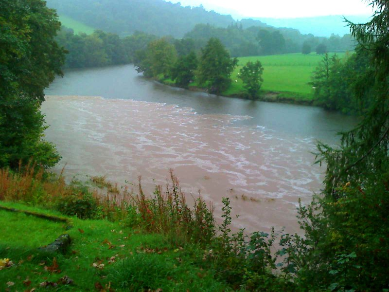 soil in the river Wye