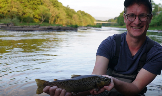Bid for a day coarse fishing with TV presenter Will Millard in our online auction!