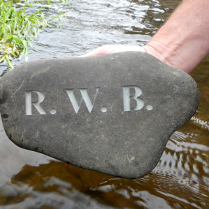 River Stone (4 letters)