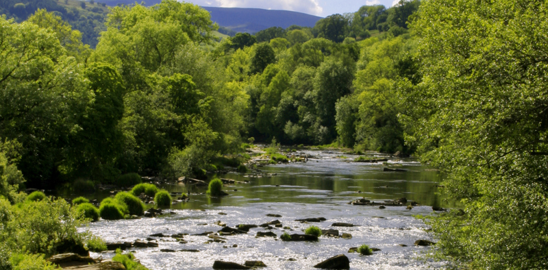 The river Usk
