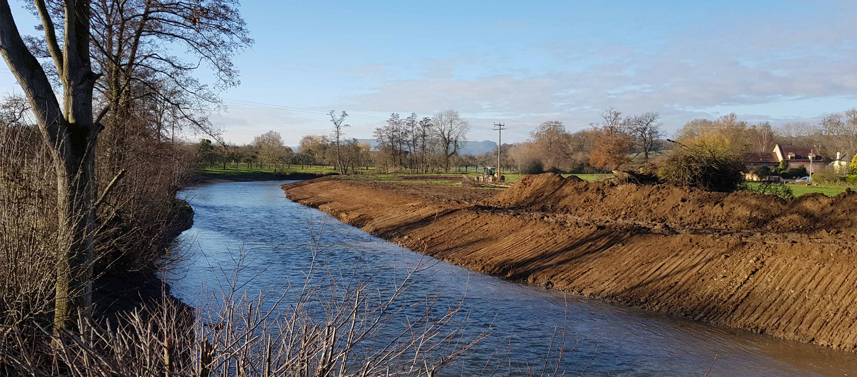 Devastation of the River Lugg
