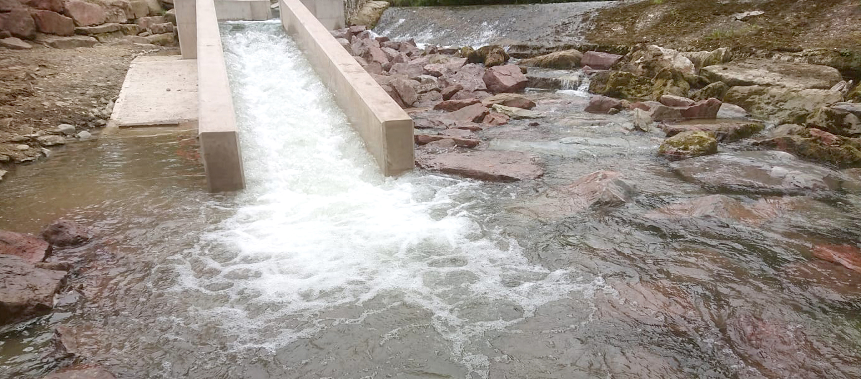 New River Lugg Fish Pass Opens